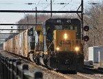 CSX 4070 leading juice train Q140